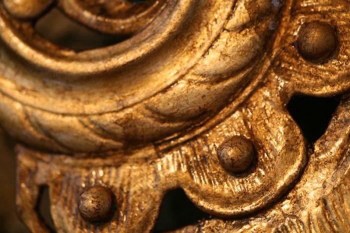 gilded detail